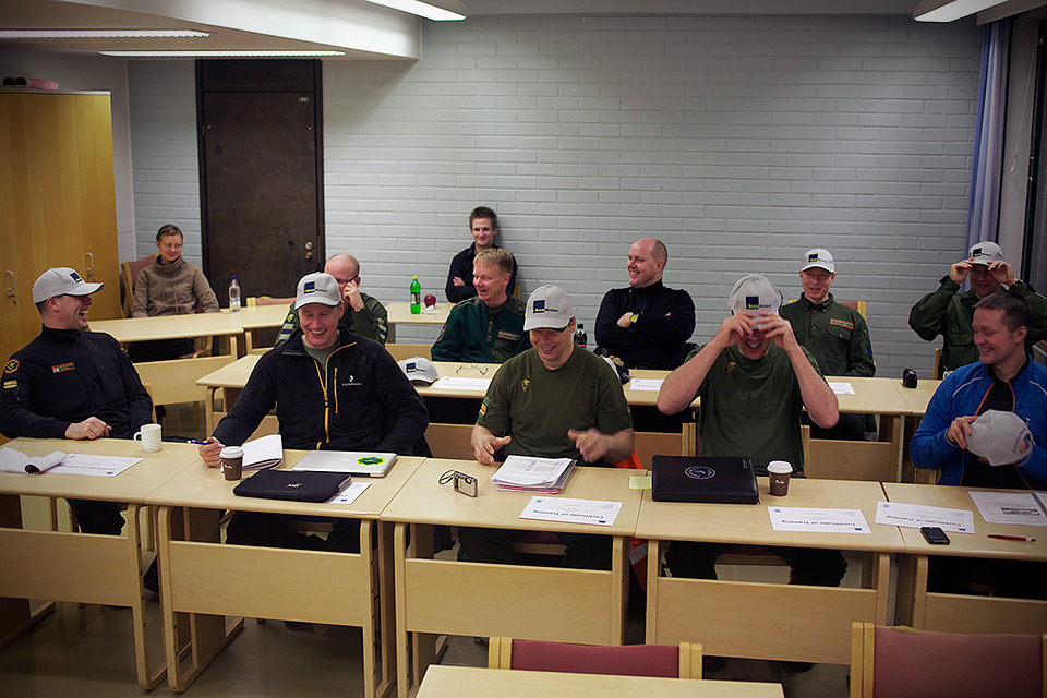 Finnish Border Guard Training