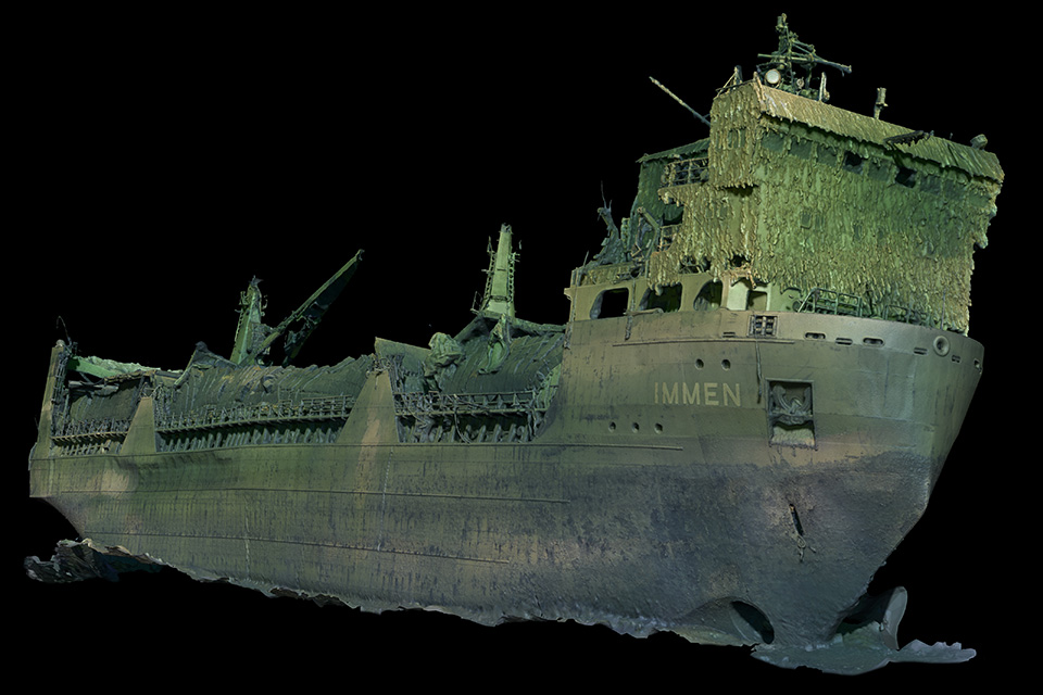 Ocean Discovery Wreck Documentation